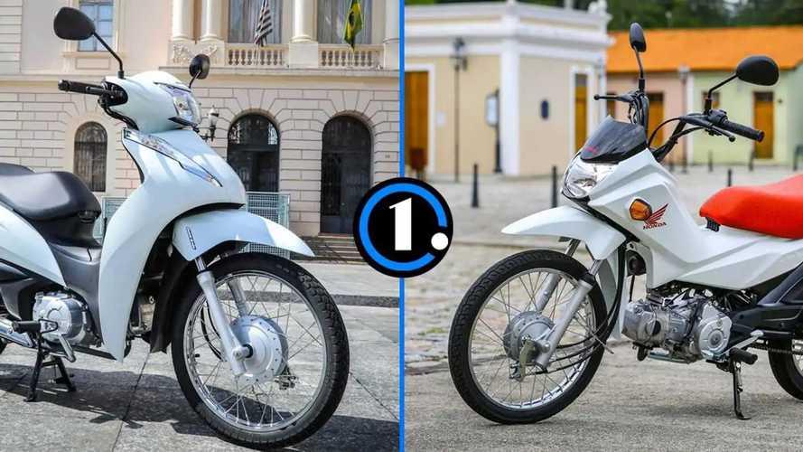 Pop ou Biz: como as motos mais baratas da Honda se comparam?