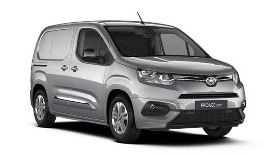 Updated Toyota Proace City van costs just under £20k before VAT
