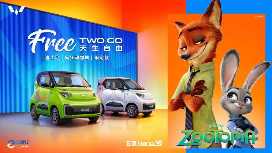 Wuling Nano EV Disney Zootopia Limited Edition