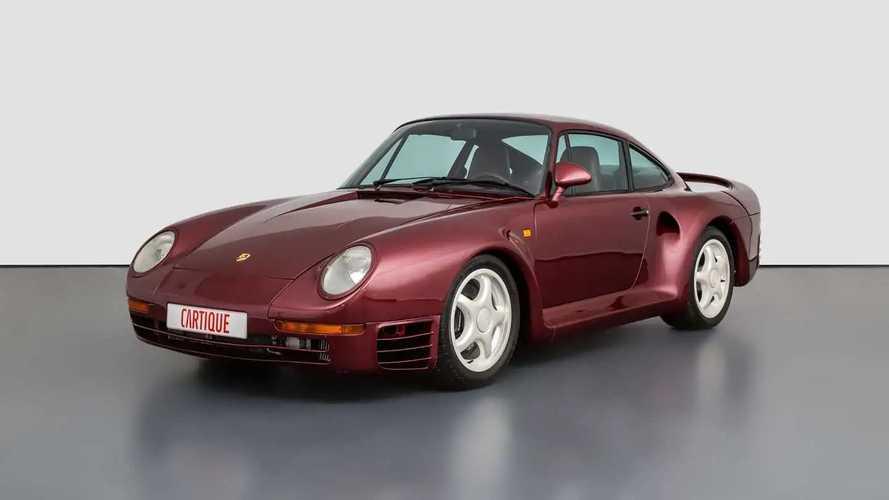 Seltener Prototyp des Porsche 959 steht zum Verkauf