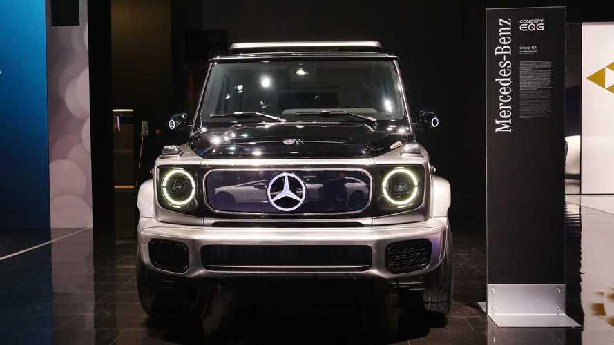 Tutte le foto della Mercedes EQG Concept a Monaco