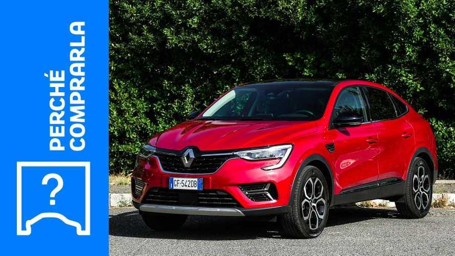 Renault Arkana (2021), perché comprarla e perché no