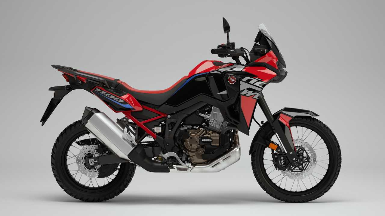 2022 Honda CRF1100L Africa Twin - Big Logo - Black and Red - Right Side