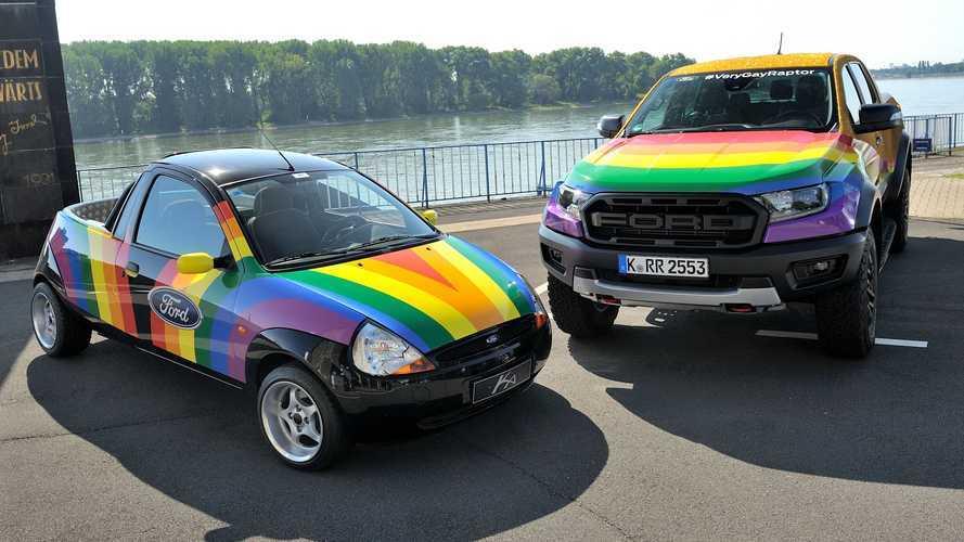 Custom 'Very Gay' Ford Ranger Raptor