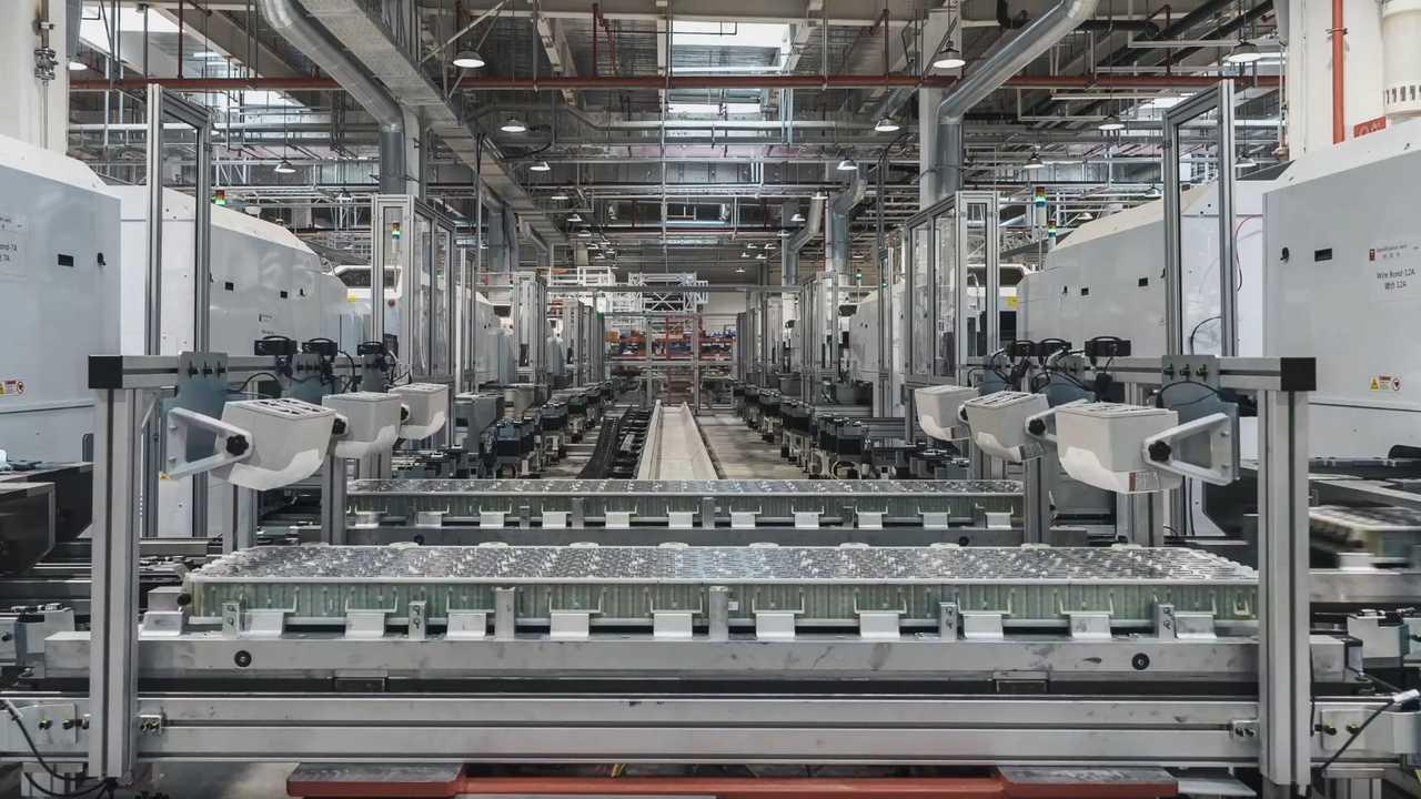 Tesla Giga Shanghai: battery production
