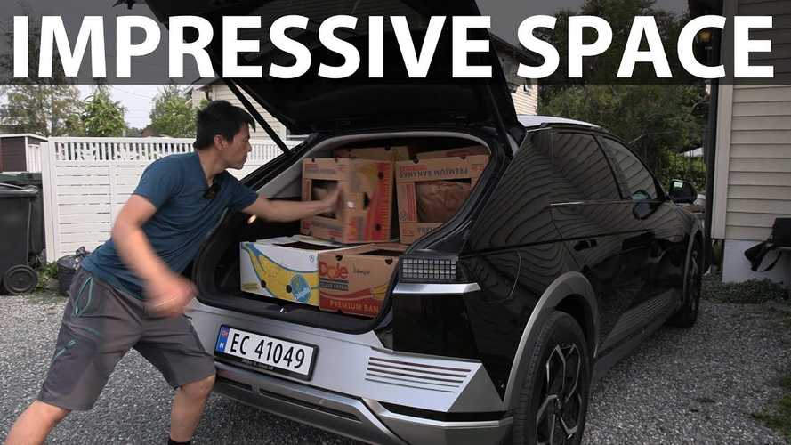 Hyundai Ioniq 5 Impresses In Bjorn's Banana Box Test