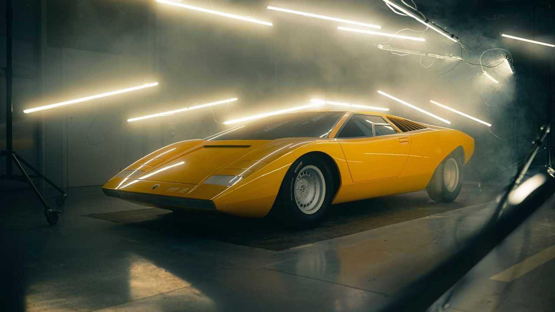 1971 Lamborghini Countach LP 500 Reconstruction