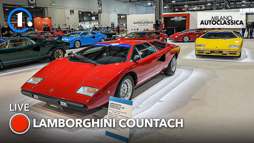 Milano AutoClassica 2021, è la Lamborghini Countach la Regina?