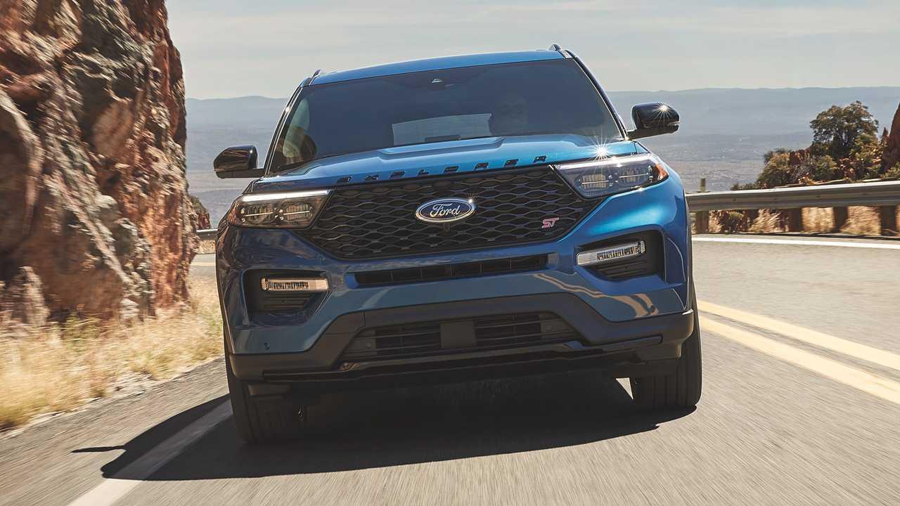 2022 Ford Explorer ST Rear-Wheel Drive