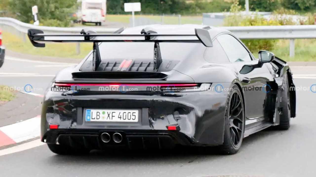Porsche 911 GT3 RS Back Spy foto