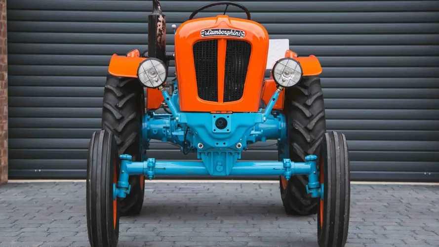 Трактор Lamborghini 1R 1966 года выпуска