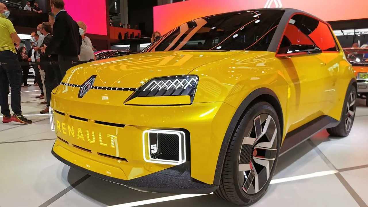 Прототип электрического Renault 5 на автосалоне в Мюнхене