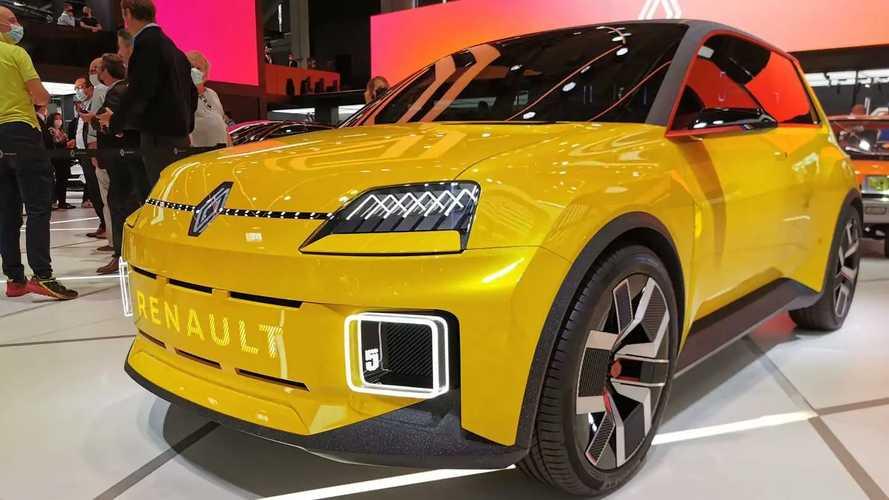 Renault показал свой концептуальный электрохэтч в Мюнхене