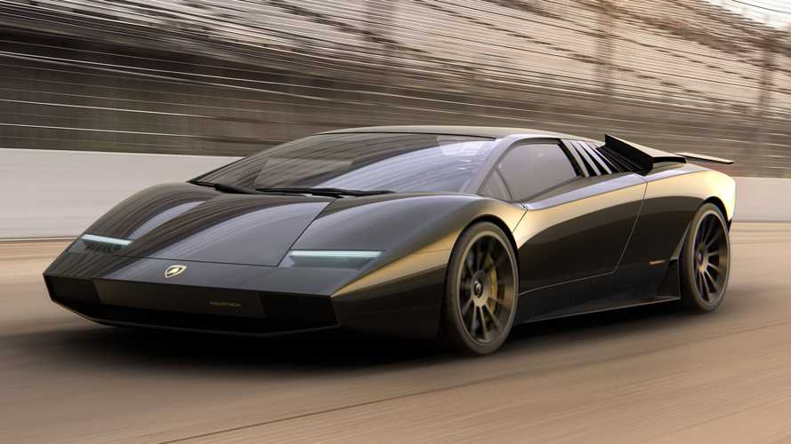 Lamborghini Countach 50 geçmişi geleceğe taşıyor