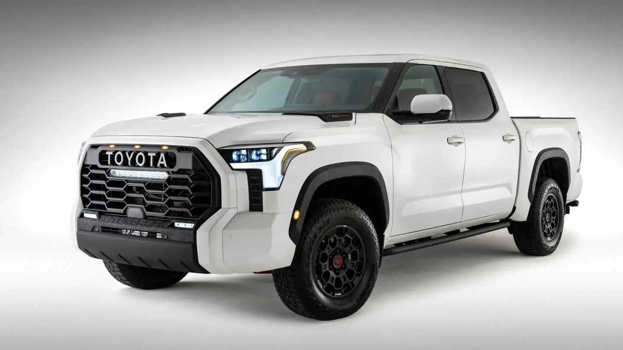 Toyota Tundra 2022 - foto ufficiale
