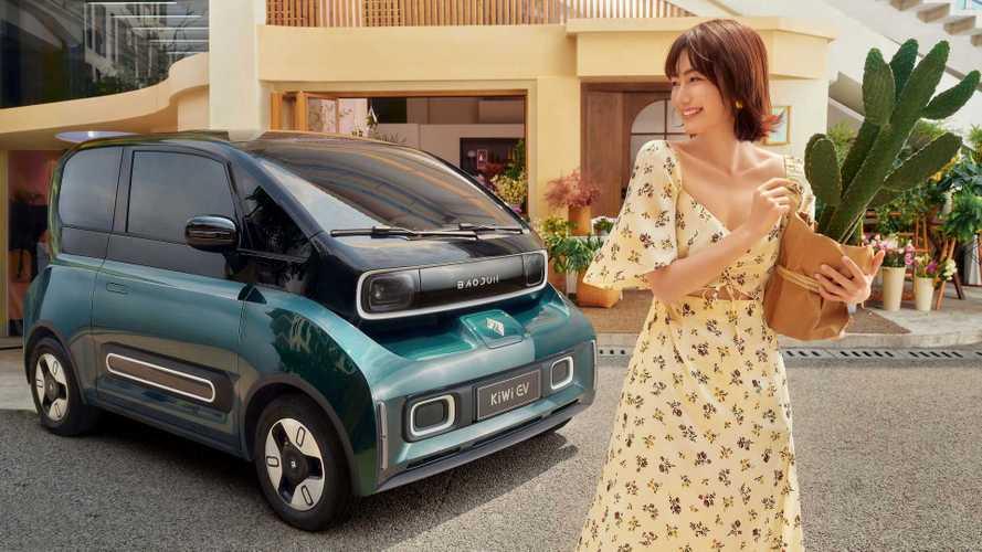 Американо–китайское предприятие представило электрокар KiWi EV
