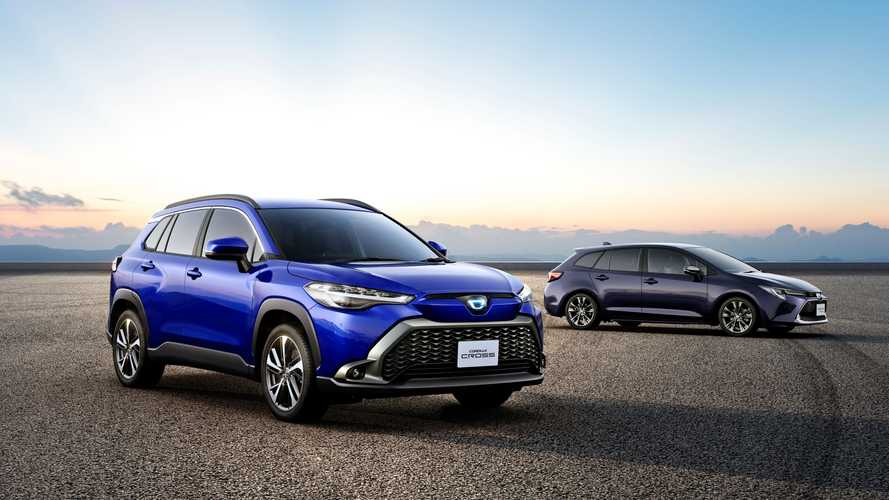 Toyota Corolla Cross'un Japonya versiyonu tasarım değişiklikleri ile geldi!