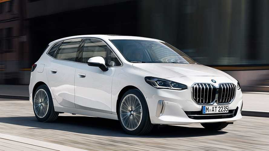 2022 BMW 2 Series Active Tourer revealed with large grille, all-new interior