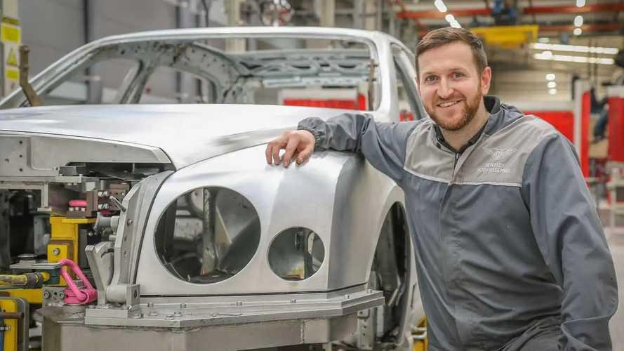 La fabbrica Bentley di Crewe