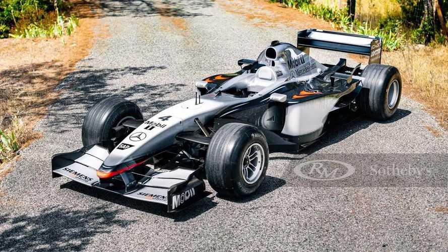 Vendido el McLaren MP4-17 de Kimi Räikkönen por 1.816.000 euros