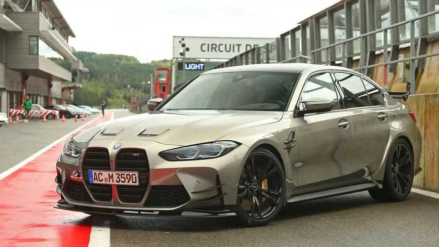 BMW M3 Competition AC Schnitzer Tembus 3,5 Detik di 100 Km/Jam