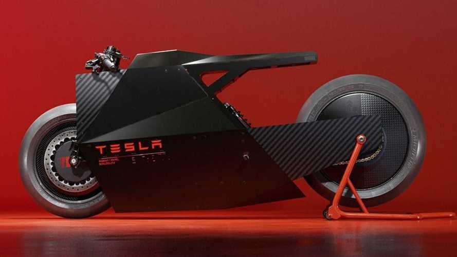 Que pensez-vous de ce concept de moto Tesla ?