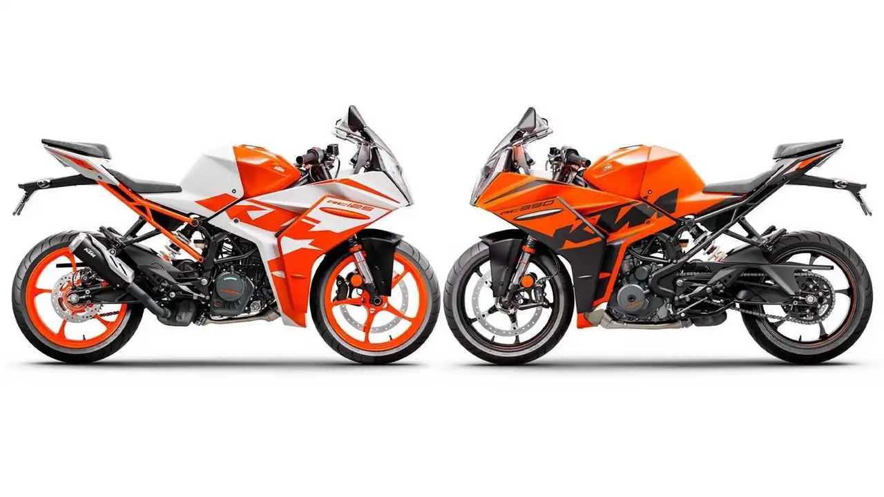 2022 KTM RC 125 & RC 390 - Main