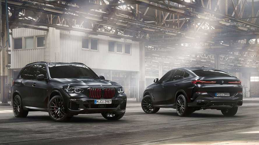 BMW X5, X6 und X7 debütieren als düstere Sondereditionen