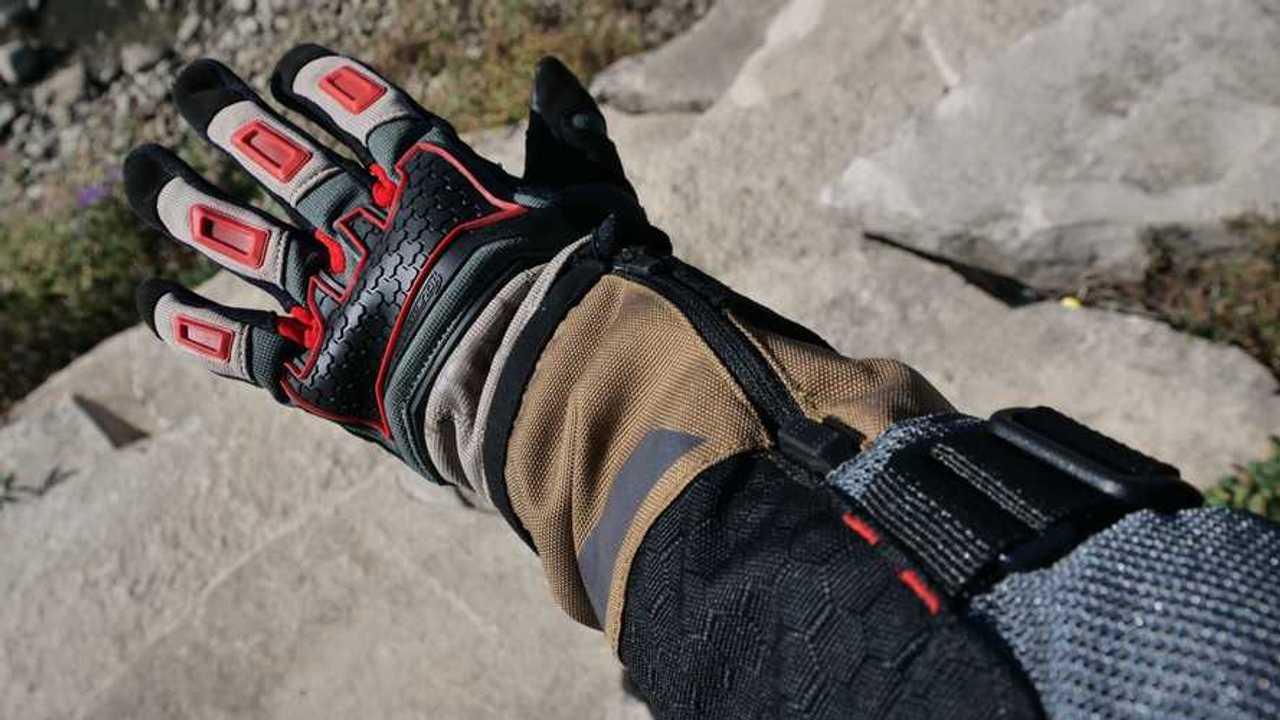 Tourmaster Horizon Line Overland Women's Gloves - Back