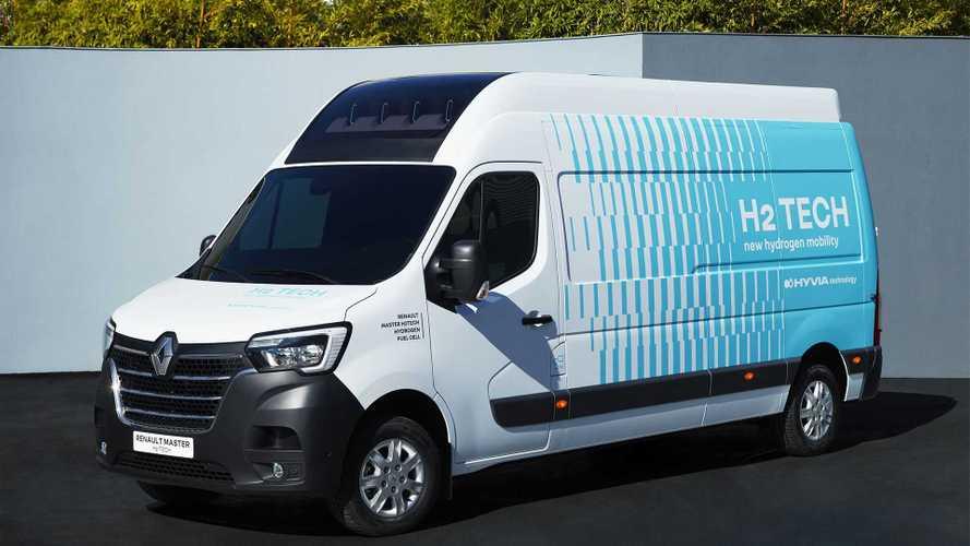 Renault показала водородный фургон Master и заправки для него