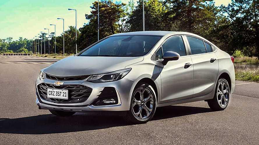 Chevrolet Cruze 2021 tem preços a partir de R$ 116.530; confira tabela