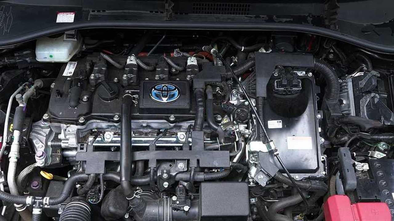 Mesin Toyota Corolla Cross Hybrid