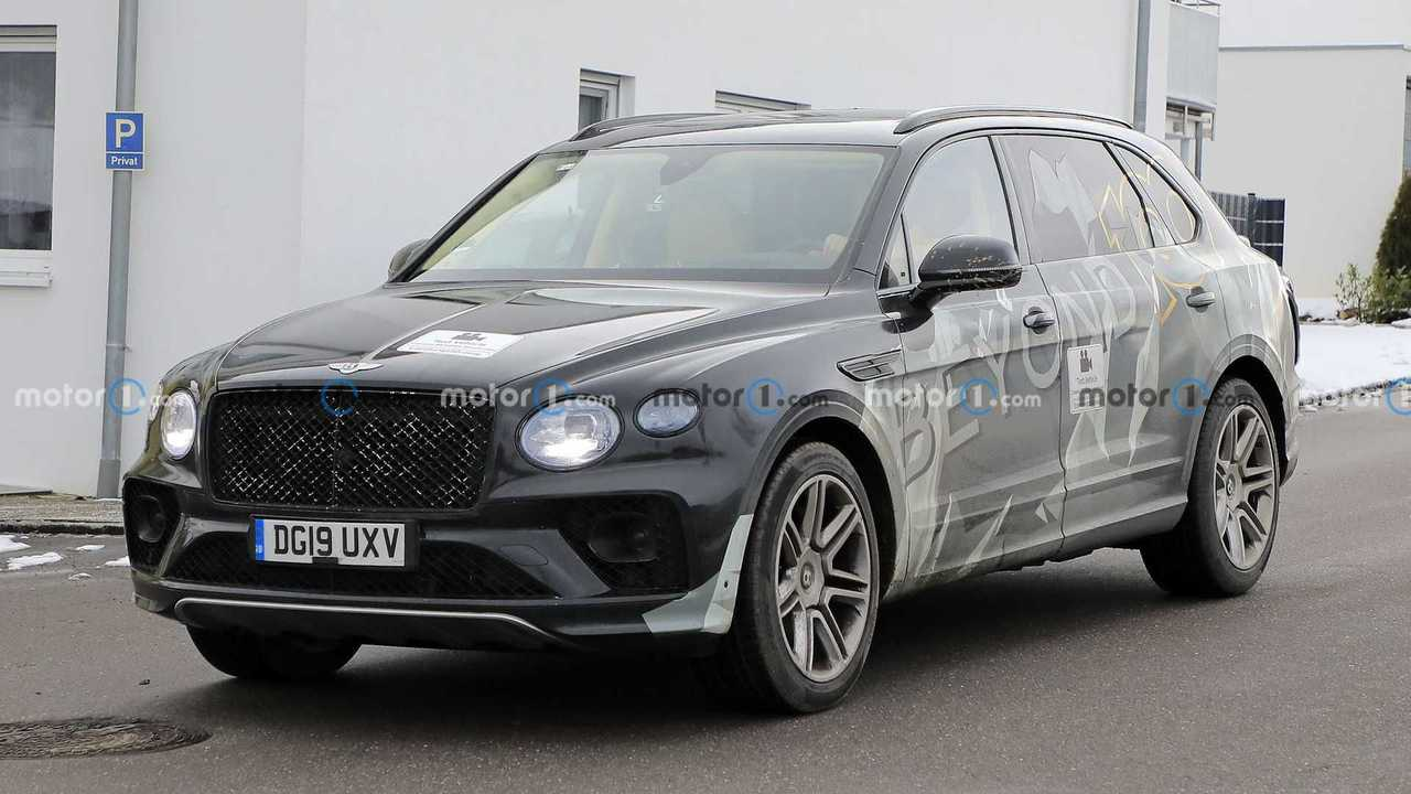 Bentley Bentayga Long Wheelbase