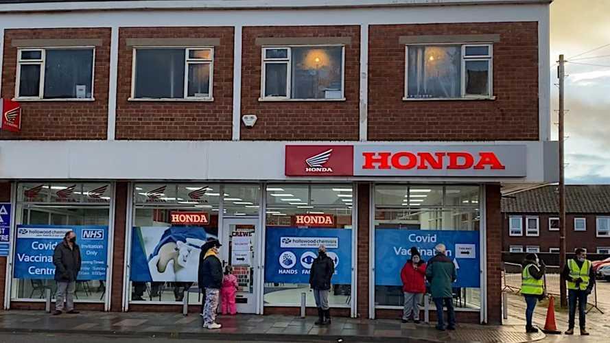 Pahlawan Pandemi, Dealer Motor Honda Jadi Posko Vaksin Covid 19