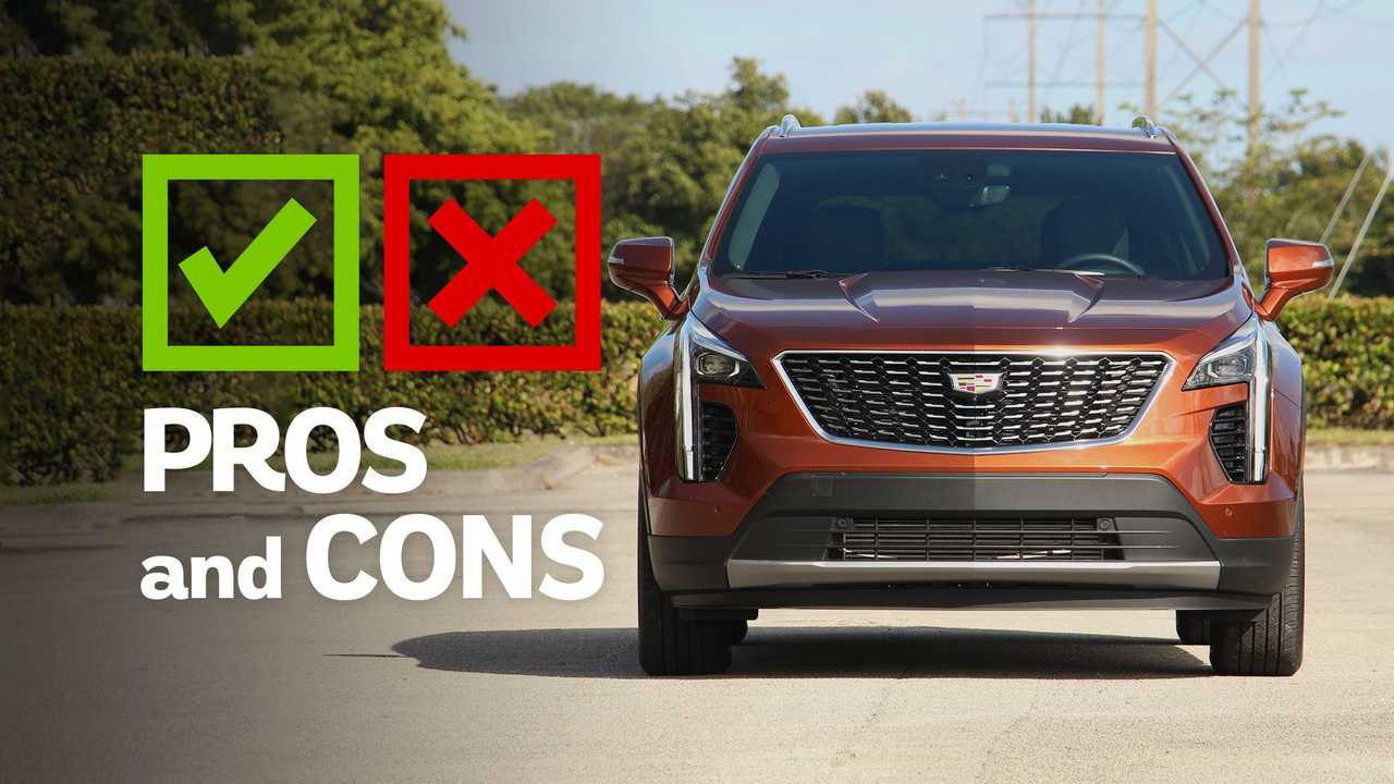 2021 Cadillac XT4 Pros And Cons