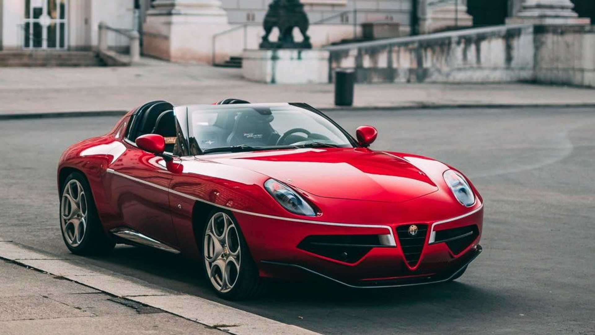 Rare Alfa Romeo Disco Volante Spyder Could Be Yours