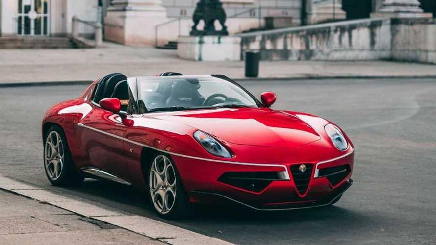 Este exclusivo Alfa Romeo Disco Volante Spyder puede ser tuyo