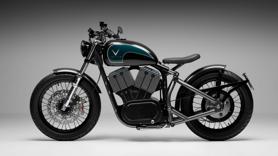 "Veitis EV-Twin, l'E-bobber ""Made in Britain"""