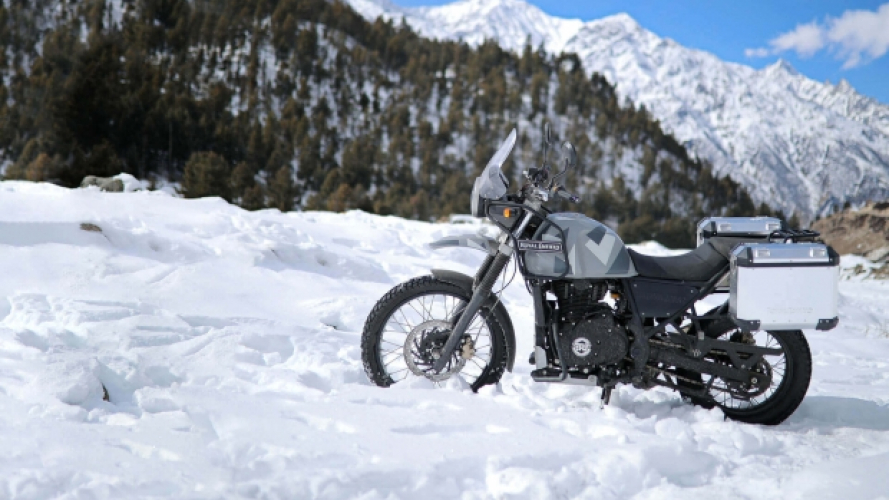 Royal Enfield Himalayan Sleet, pronta a tutto