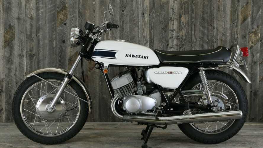 Kawasaki Mach III 500, la