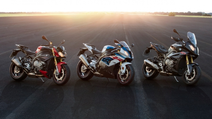 BMW S1000RR, S1000R e S1000XR 2017