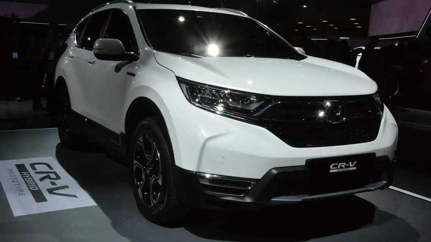 Honda CR-V Hybrid (európai változat)