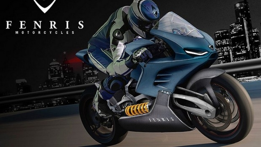 Fenris: moto elettrica da 300 km/h [VIDEO]