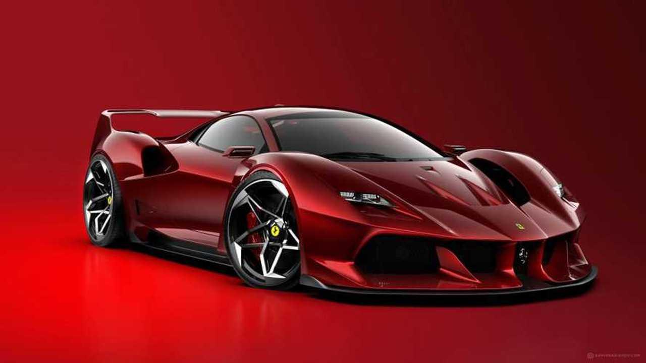 Ferrari F40 Tribute tasarım yorumu