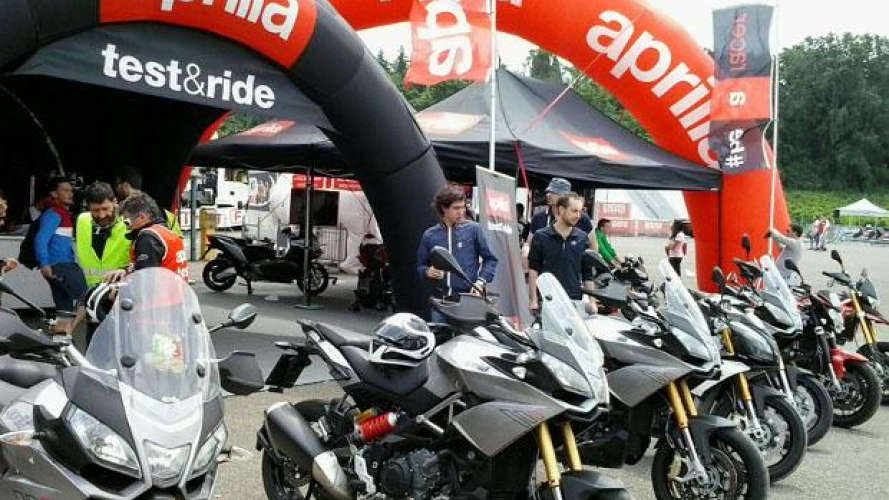 Test Ride Aprilia per la SBK di Imola questo weekend