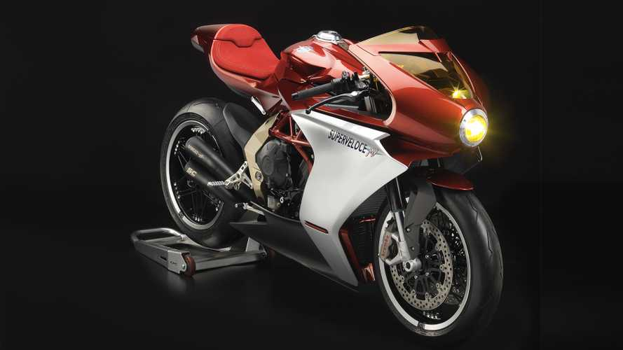MV Agusta Turns Back Time With Superveloce 800 Concept