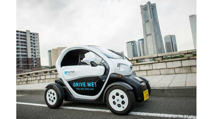 Nissan Extends Its 'Choimobi Yokohama' Car Sharing Service For Additional Year