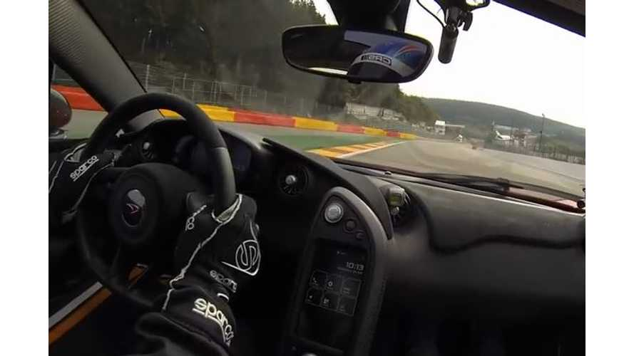 McLaren P1 At Spa Francorchamps  - Video