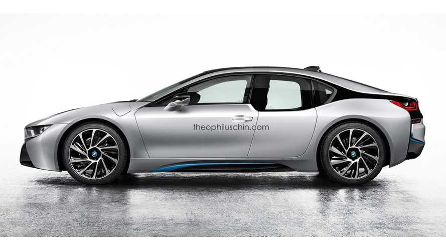Four-Door BMW i8 Rendered
