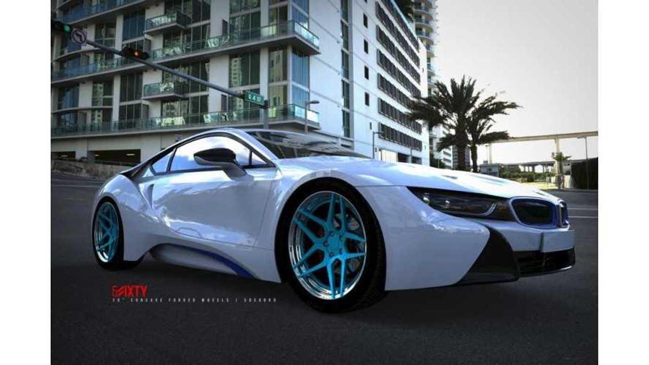 BMW I8 Custom >> 6sixty Design Unveils Custom Bmw I8 Wheels Insideevs Photos